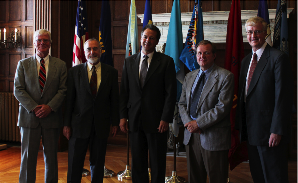 America's Edge Members meet with Governor Bullock