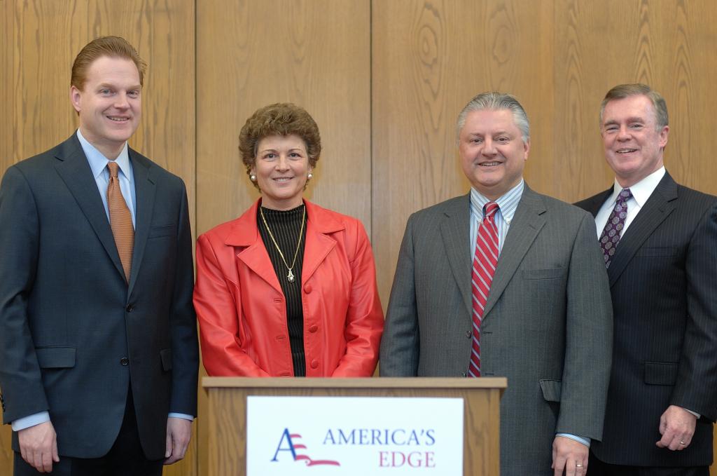 America's Edge Members at Press Event